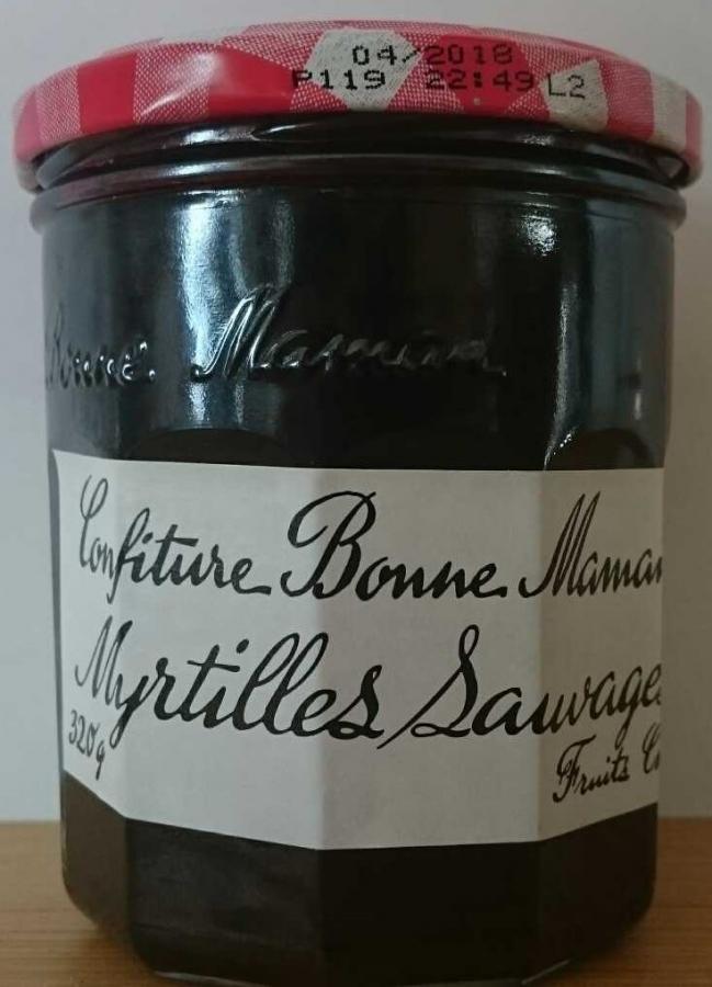 BONNE MAMAN Conf.myrtille.b/maman boc.320g