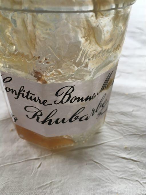 BONNE MAMAN Confiture rhubarbe b.mam.320g