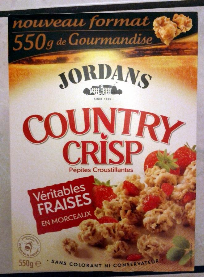 JORDANS Country crisp fraise.jord.550g
