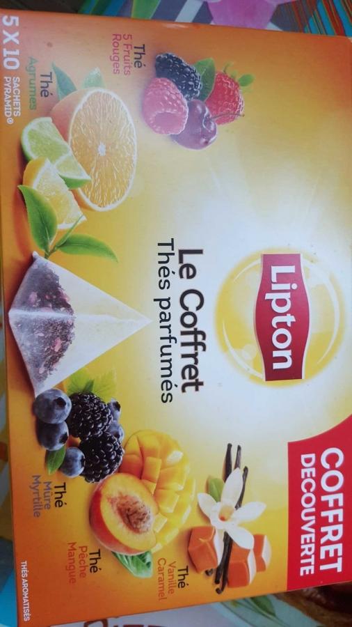 LIPTON Coff.thes parfumes lipt.x50