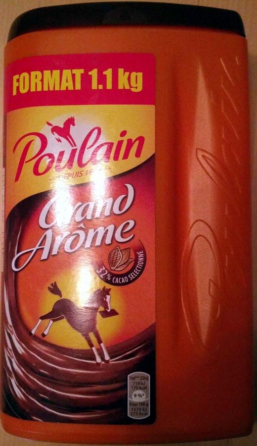 POULAIN Grand arome poulain bte 1,1kg