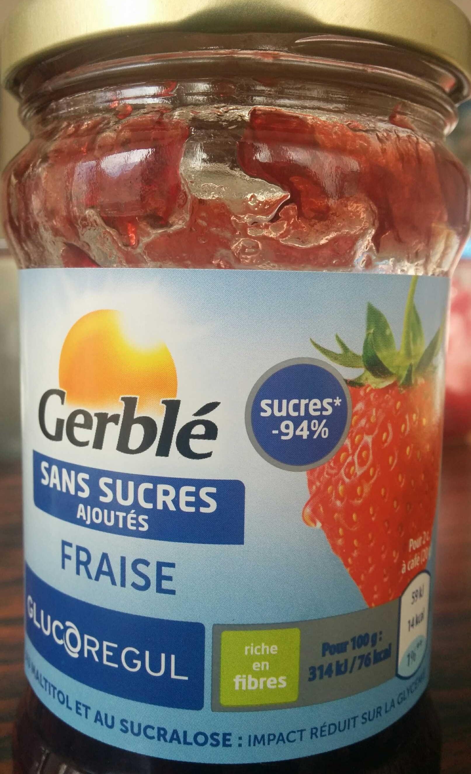 confiture de fraise gerble