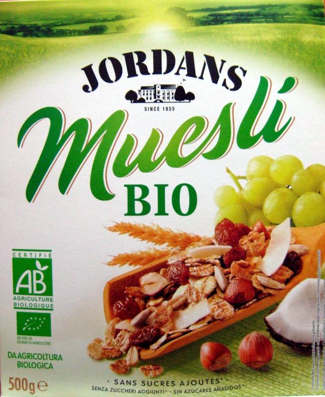 JORDANS Cereales muesli.bio bte 500g