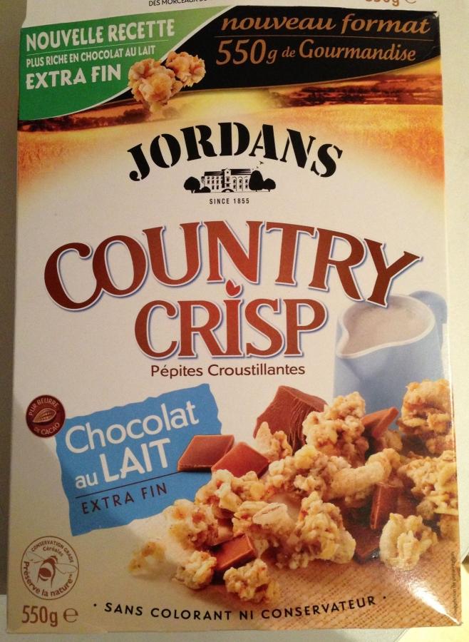 JORDANS Country crisp choc.lt jor.550g