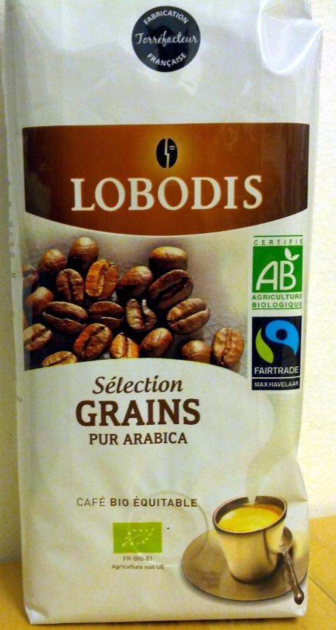LOBODIS Cafe grain bio alcima lob.250g