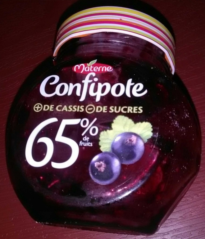 MATERNE Confipote cassis materne 350g