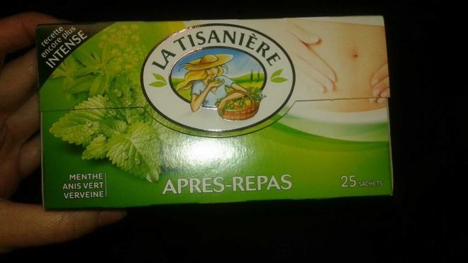TISANIERE Infus.ap.repas tisaniere 25st