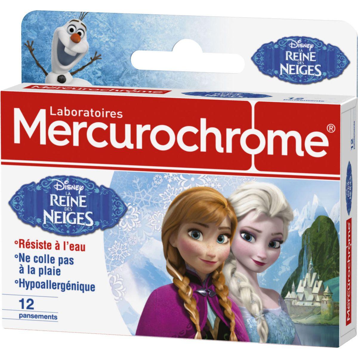 MERCIROCHROME Pans.reine des neig.mercur.x12